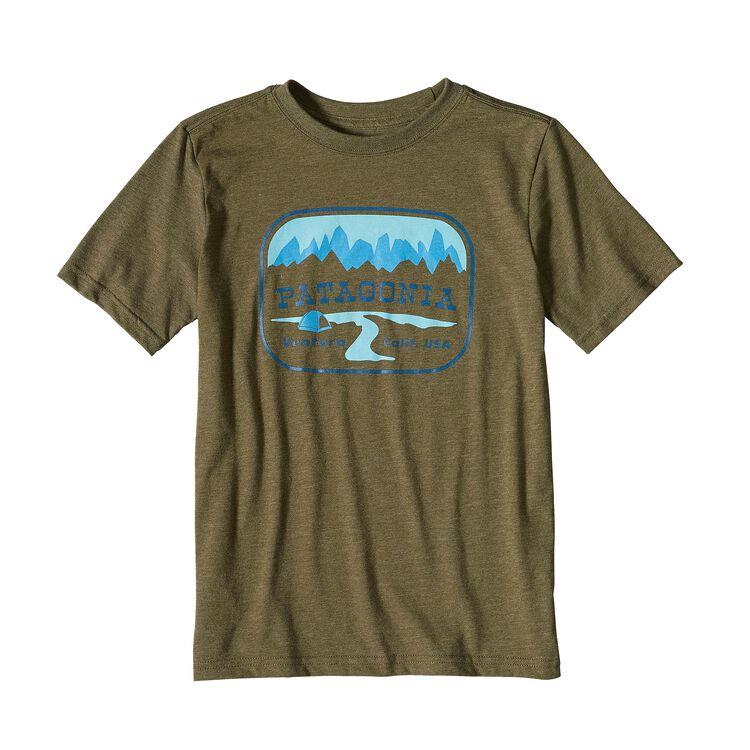 ボーイズ・ポインテッド・ウエスト・コットン/ポリ・Tシャツ, Gorge Green (GORG)