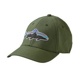 フィッツロイ・トラウト・ストレッチ・フィット・ハット, Buffalo Green (BUFG)