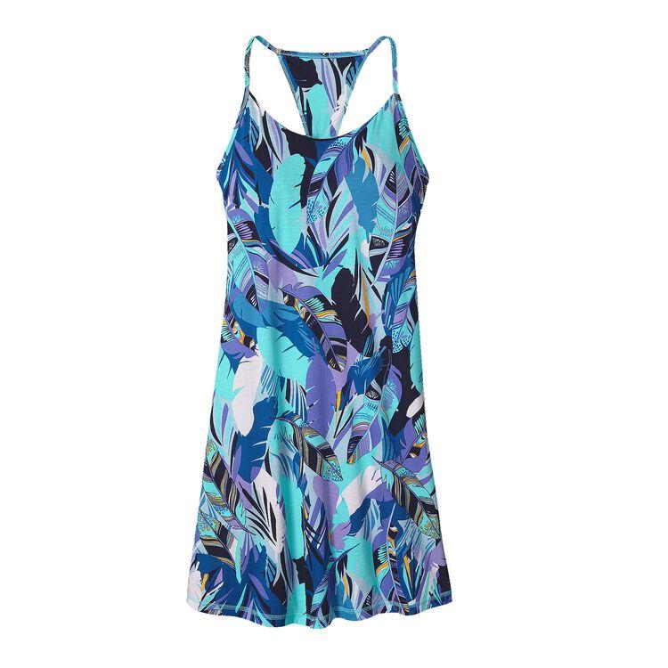 W'S EDISTO DRESS, Wild Paradise: Howling Turquoise (WHWT)