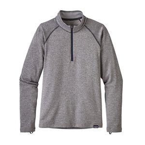 Boys' Capilene® Heavyweight Zip-Neck, Feather Grey (FEA)