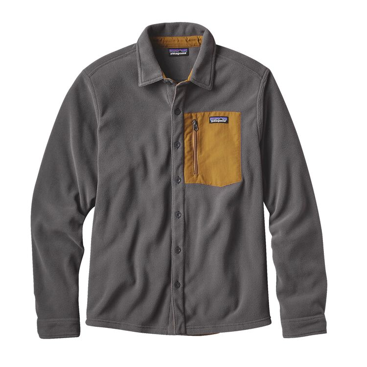 M'S MICRO D SHIRT, Forge Grey (FGE)