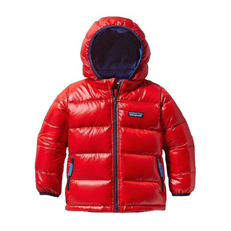 BABY HI-LOFT DOWN SWEATER HOODY, French Red (FRR)