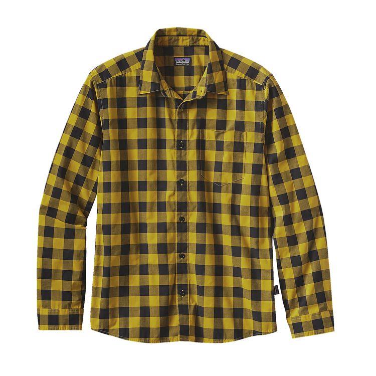 M'S L/S FEZZMAN SHIRT, P.Bunyan: Sulfur Yellow (PBSY)