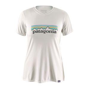 ウィメンズ・キャプリーン・デイリー・グラフィック・Tシャツ, Pastel P-6 Logo: White (PTLW)