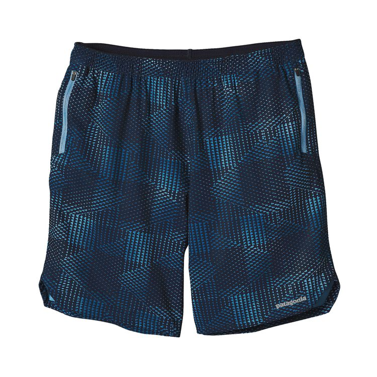 M'S NINE TRAILS SHORTS, Shadow Pop Chop: Navy Blue (SDNY)