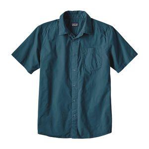 M's Fezzman Shirt - Slim Fit, Whole Weave: Bay Blue (WVBY)