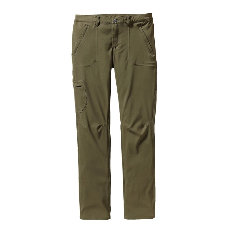 W'S SIDESEND PANTS - REG, Fatigue Green (FTGN)