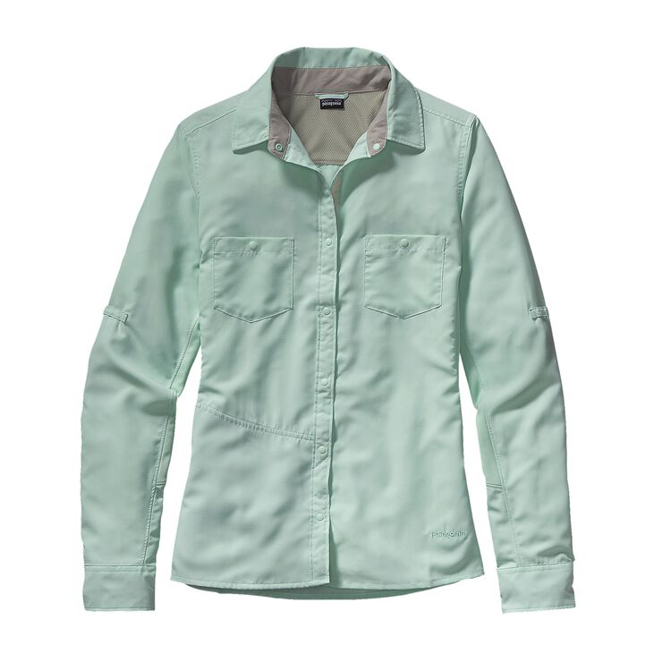 W'S L/S SOL PATROL SHIRT, Lite Distilled Green (LDSG)