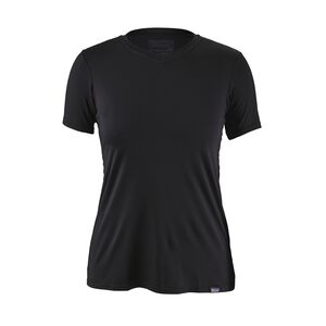 W'S CAP DAILY T-SHIRT, Black (BLK)