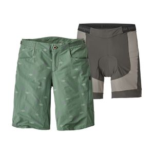 "W's Dirt Craft Bike Shorts - 11 1/2"", Heritage Lines: Pesto (HLPE)"
