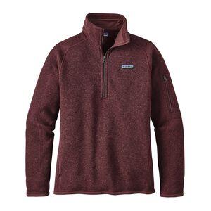 W's Better Sweater™ 1/4-Zip, Dark Ruby (DAK)