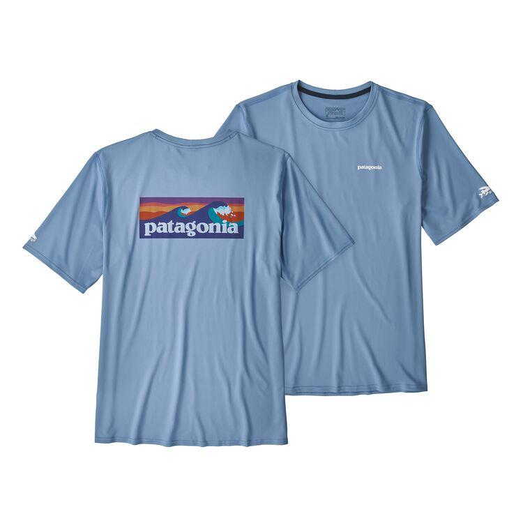 メンズ・RØ サン・ティー, Boardshort Logo: Railroad Blue (BOLR)