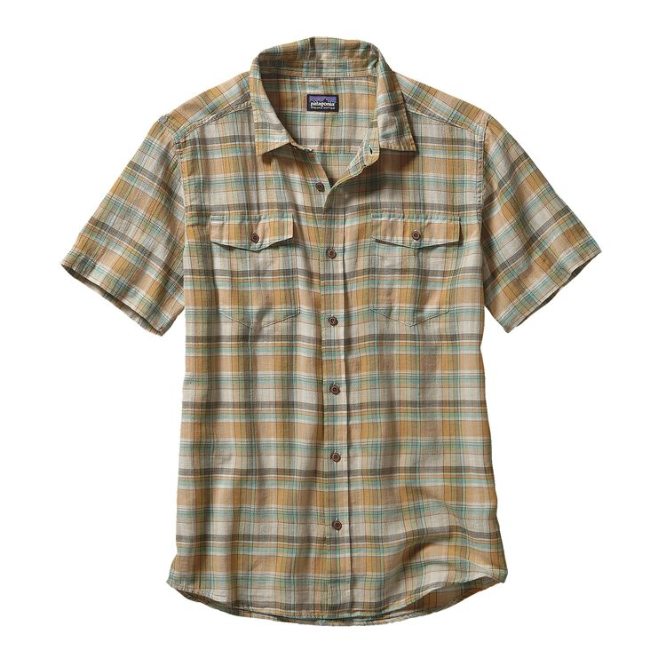 M'S STEERSMAN SHIRT, Bearded: Distilled Green (BDSG)