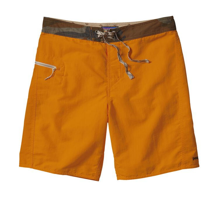 M'S SOLID WAVEFARER BOARD SHORTS - 19 IN, Sporty Orange (SPTO)