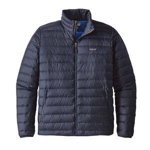 M's Down Sweater Jacket, Navy Blue w/Navy Blue (NVNV)