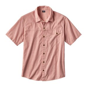 M's Clean Color Short-Sleeved Shirt, Clean Carmine Pink (CRMP)