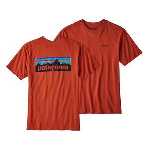 M's P-6 Logo Organic Cotton T-Shirt, Roots Red (RTSR)
