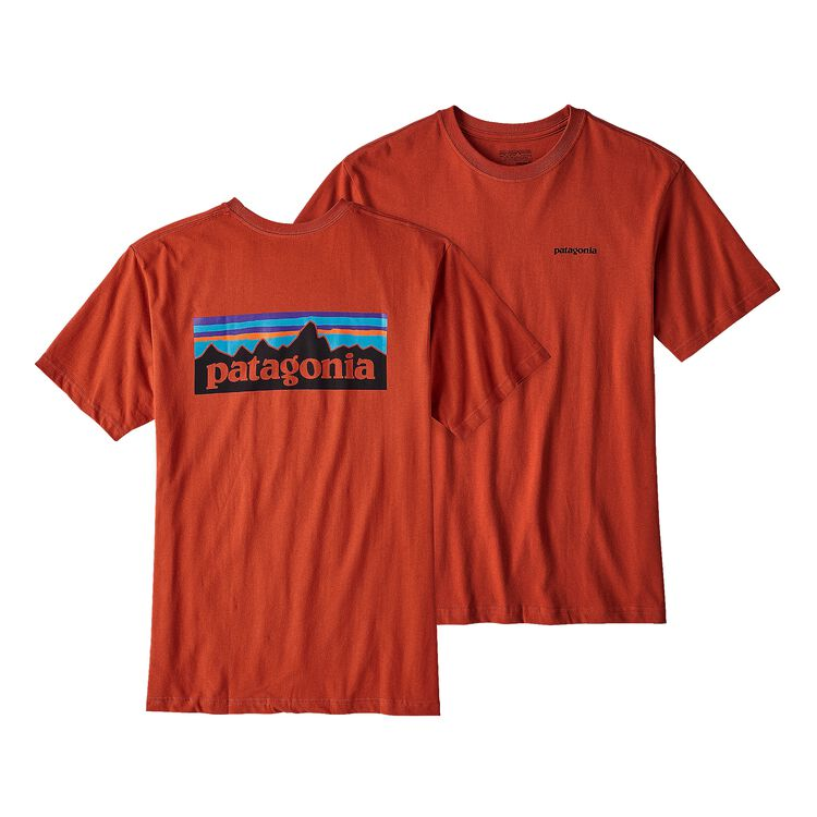 M'S P-6 LOGO COTTON T-SHIRT, Roots Red (RTSR)
