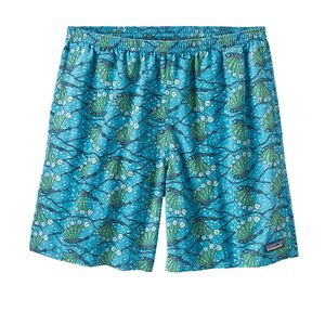 "M's Baggies™ Longs - 7"", Hexy Fish: Radar Blue (HXYR)"