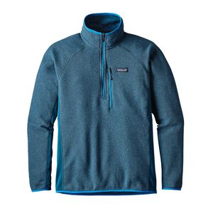 M's Performance Better Sweater™ 1/4-Zip, Big Sur Blue (BSRB)