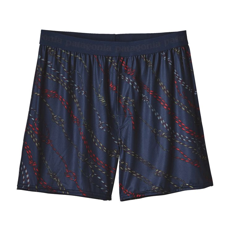 M'S CAP DAILY BOXERS, Knotty by Nature: Navy Blue (KNNB)