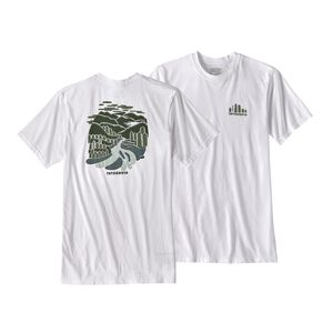 M's Rainforest Fed Organic Cotton/Poly Responsibili-Tee®, White (WHI)