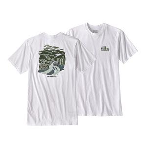 M's Rainforest Fed Cotton/Poly Responsibili-Tee®, White (WHI)