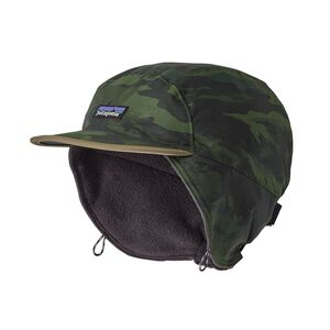 Shelled Synchilla® Duckbill Cap, El Nino Camo: Carbon (ENCB)