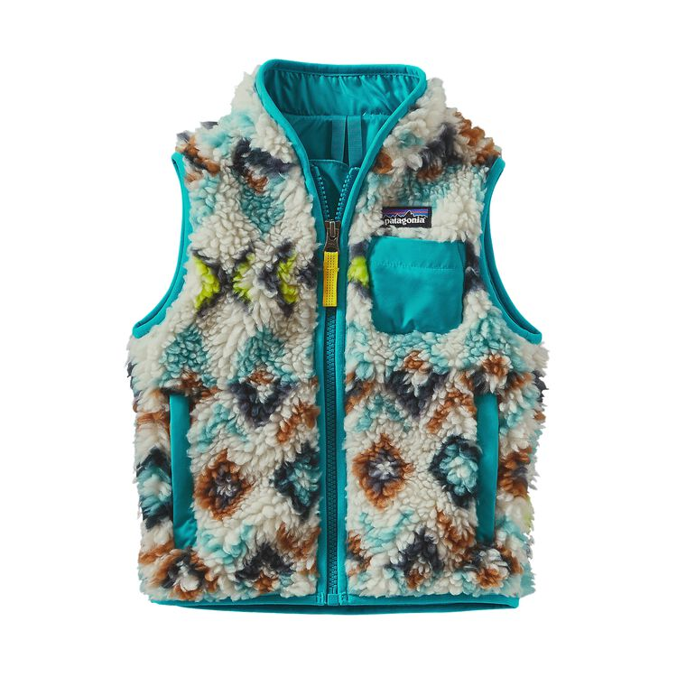 BABY RETRO-X VEST, Fern Dell Small: Toasted White (FDST)