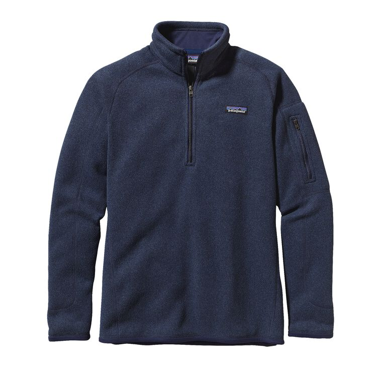 W'S BETTER SWEATER 1/4 ZIP, Classic Navy (CNY)