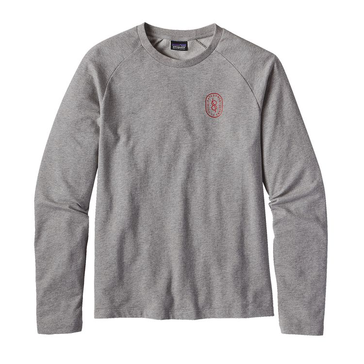 M'S KNOTTED LW CREW SWEATSHIRT, Feather Grey (FEA)