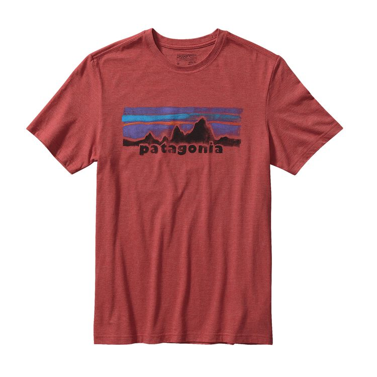 M'S PATAGONIA LEGACY LABEL COTTON/POLY T, Sumac Red (SUMR)