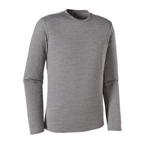 メンズ・ロングスリーブ・メリノ・デイリー・Tシャツ, Feather Grey (FEA)