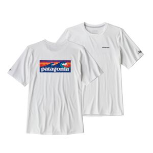M's RØ® Sun Tee, Boardshort Logo: White (BOLW)