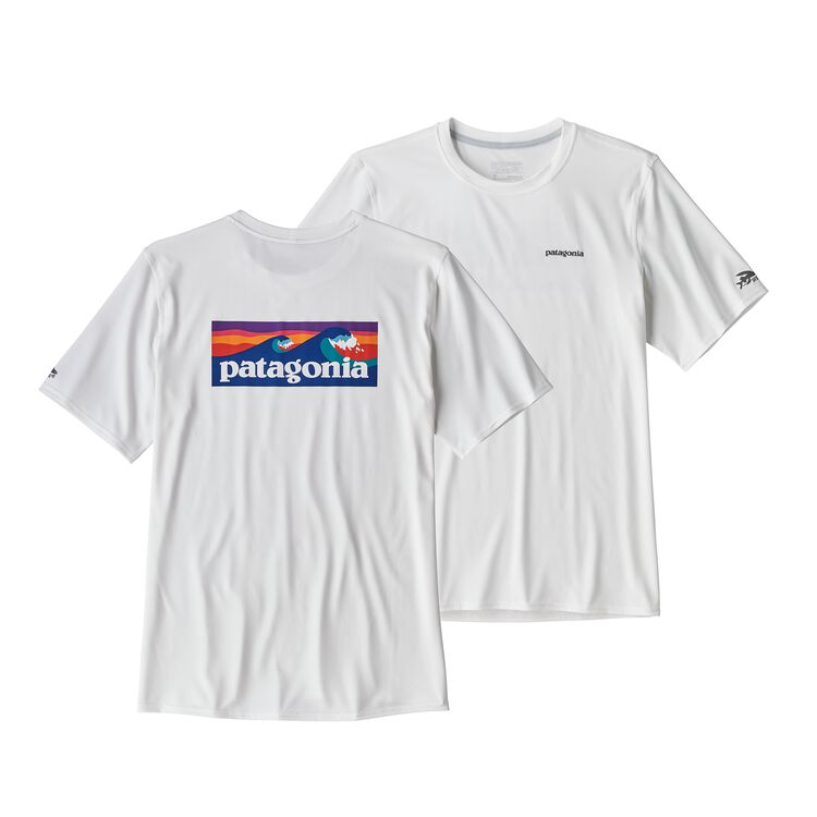 メンズ・RØ サン・ティー, Boardshort Logo: White (BOLW)