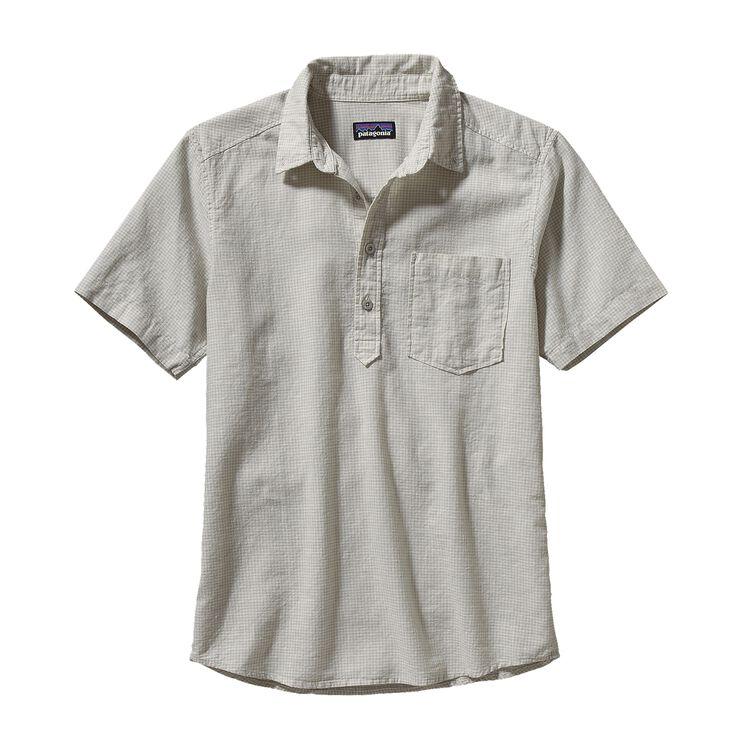 メンズ・バック・ステップ・プルオーバー・シャツ, Copper Point: Tailored Grey (CPTL)