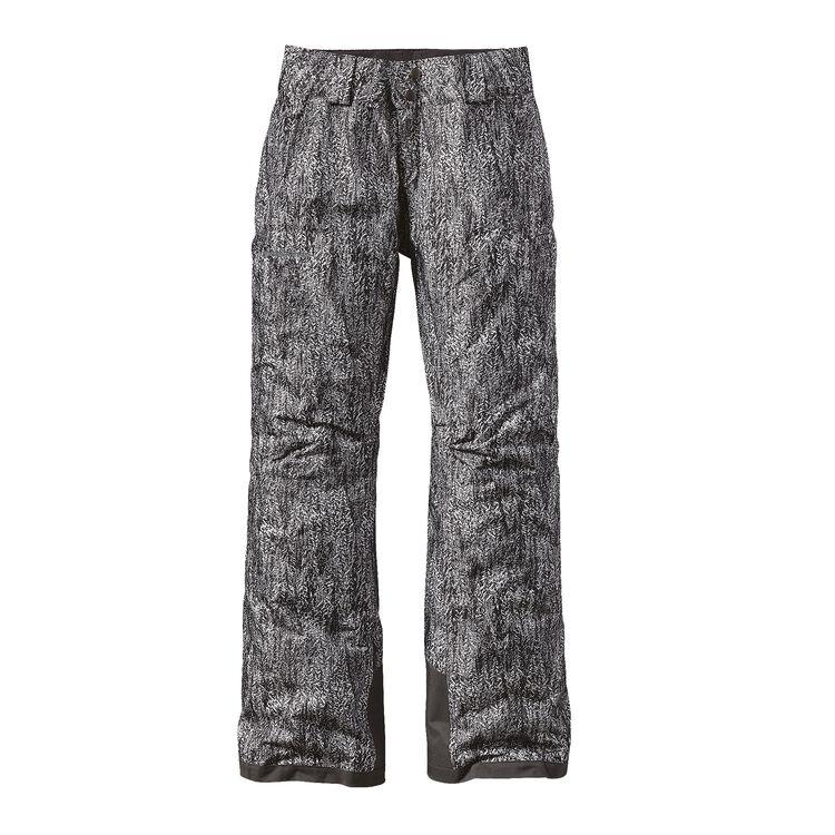 ウィメンズ・インサレーテッド・スノーベル・パンツ(レギュラー), Forestland: Tailored Grey (FOTG)