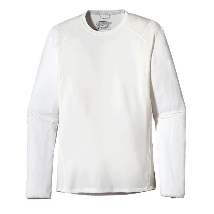 メンズ・キャプリーン1・シルクウェイト・クルー(スペシャル), White (WHI-725)