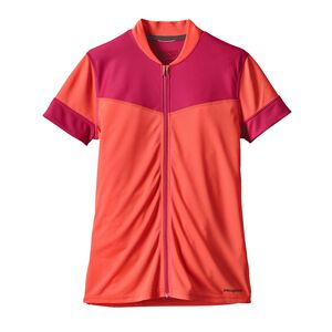 W's Crank Craft Jersey, Carve Coral (CRVC)