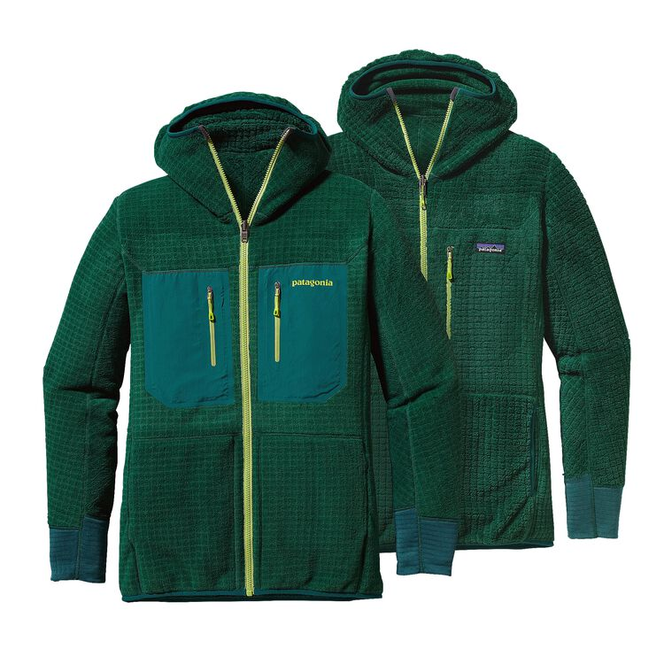 M'S R3 HOODY, Hunter Green (HNT)