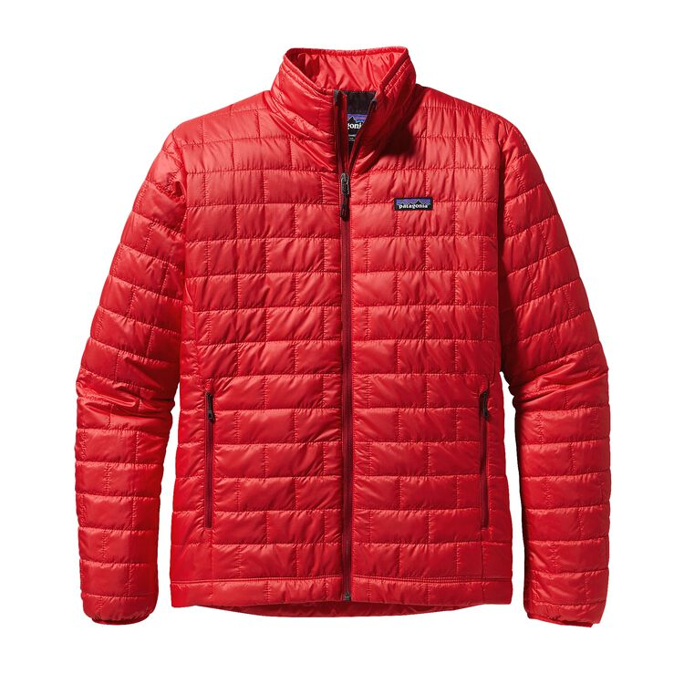 M'S NANO PUFF JKT, French Red (FRR)