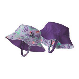 Baby Sun Bucket Hat, Garibaldi Tropics: Petoskey Purple (GTPR)