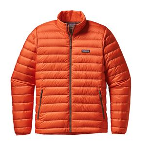 M'S DOWN SWEATER, Cusco Orange (CUSO)
