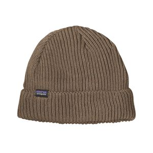 FISHERMANS ROLLED BEANIE, Ash Tan (ASHT)