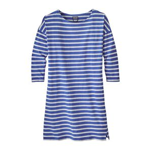 W's Seatoller Dress, Midnight Stripe: Imperial Blue (MISI)