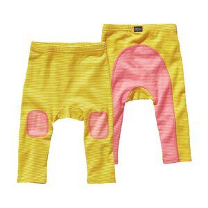 ベビー・コージー・コットン・パンツ, Itsy Bitsy Stripe: Blazing Yellow (IBZY)