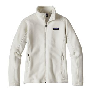W's Classic Synchilla® Fleece Jacket, Birch White (BCW)