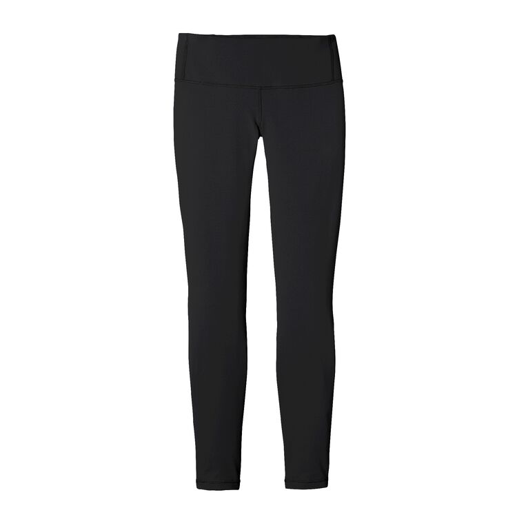 W'S CENTERED TIGHTS, Black (BLK)