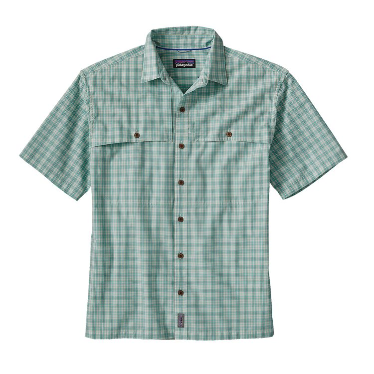 M'S ISLAND HOPPER II SHIRT, Nymph: Howling Turquoise (NYHT)