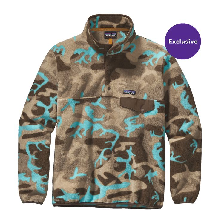 M'S LW SYNCH SNAP-T P/O, Forest Camo: Howling Turquoise (FHWQ)
